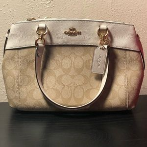 Coach Mini Brooke Carryall NWT